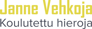 Koulutettu hieroja Janne Vehkoja Logo